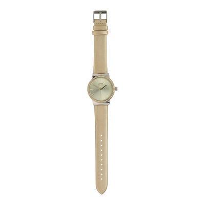 Damen-Armbanduhr mit Strasssteinchen