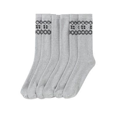 Herren-Thermo-Designersocken, 3er Pack