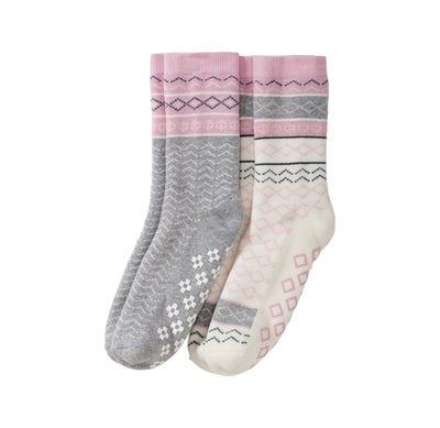 Damen-Socken aus Frottierflausch, 2er Pack