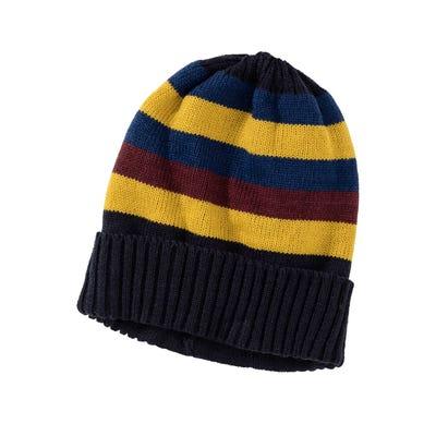 Jungen-Mütze mit Streifendesign