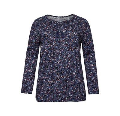 Damen-Shirt mit Zierquasten, große Größen