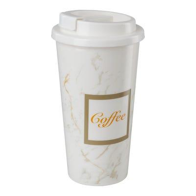 Coffee-to-go-Becher in verschiedenen Designs, ca. 430ml