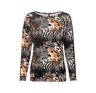 Damen-Shirt mit Fledermaus-Ärmeln
