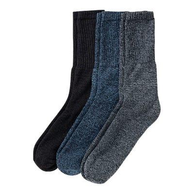 Herren-Socken mit Ripp-Struktur, 3er Pack