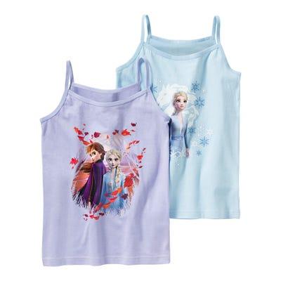 Frozen Mädchen-Unterhemd, 2er Pack