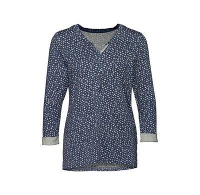 Damen-Shirt mit Punkte-Muster