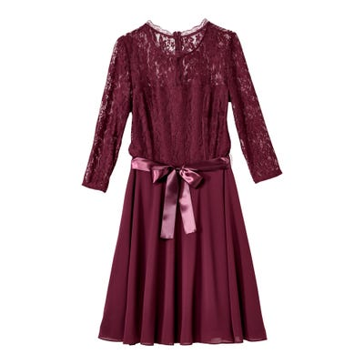 Damen-Kleid mit tollem Chiffonrock