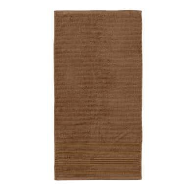 Handtuch mit edlen Struktur-Streifen, 50x100cm