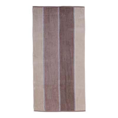 Duschtuch mit Blockstreifen, 70x140cm