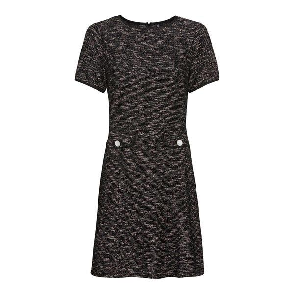 Damen-Bouclé-Kleid