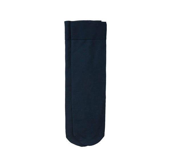 Damen-Kniestrümpfe aus Mikrofaser, 40 DEN, 2er Pack