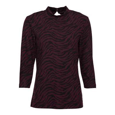 Damen-Shirt mit Tiermuster