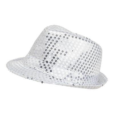 Pailletten-Hut für Erwachsene, Ø ca. 58cm