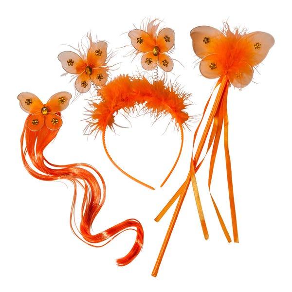 Feen-Set mit Haarsträhne, 3-teilig