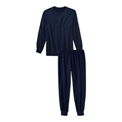 Herren-Schlafanzug mit Punkte-Muster, 2-teilig