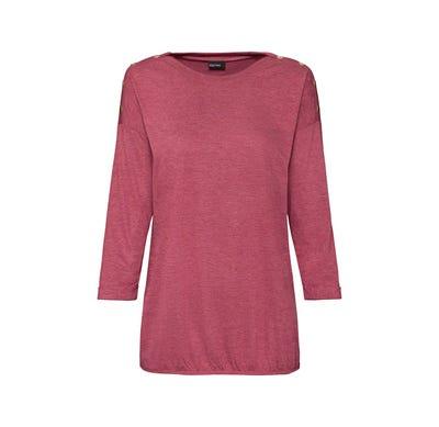 Damen-Shirt mit Metallknöpfen