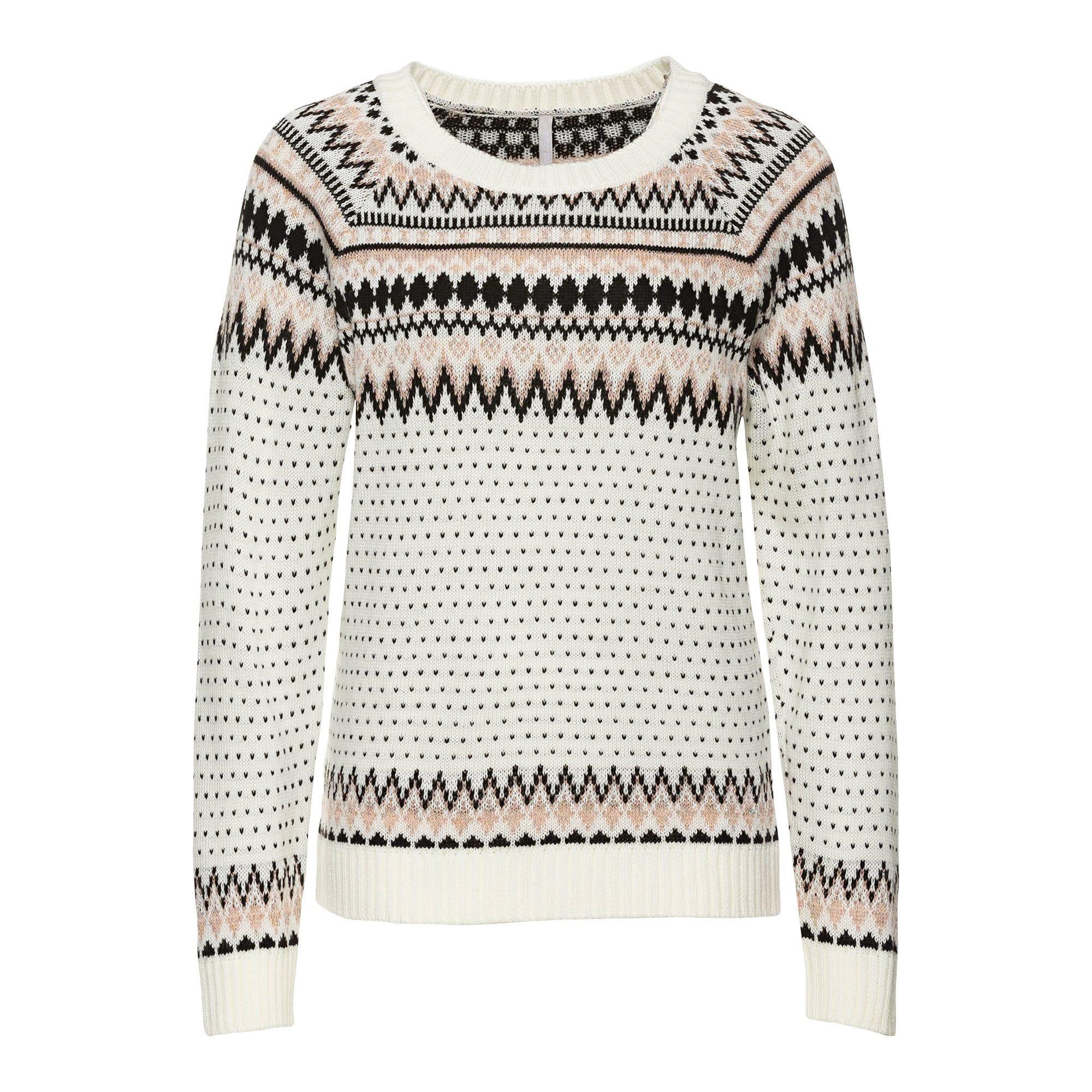 Damen Pullover im Norweger Stil