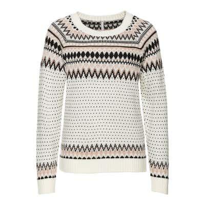 Damen-Pullover im Norweger-Stil
