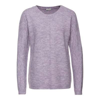 Damen-Pullover in Melange-Optik