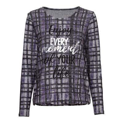 Damen-Sweatshirt mit trendiger Aufschrift