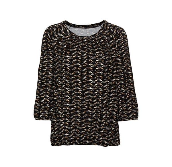 Damen-Shirt mit tollem Ketten-Muster