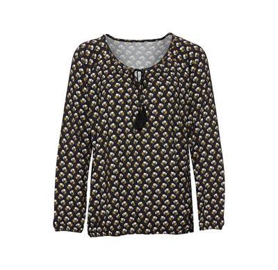 Damen-Shirt mit Bindebändern