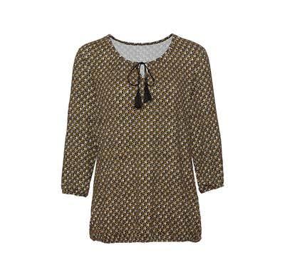 Damen-Shirt mit trendigem Blümchen-Design