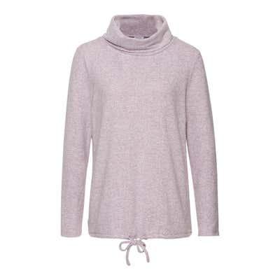 Damen-Sweatshirt mit hübschen Bindebändern