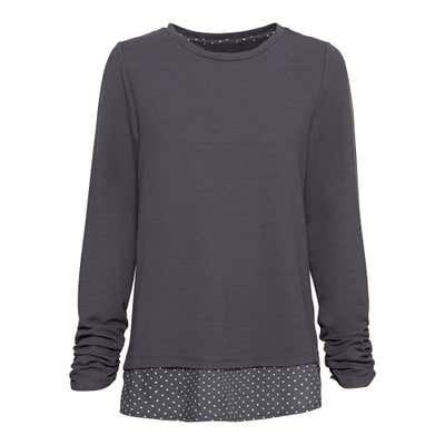 Damen-Shirt im 2-in-1-Look
