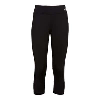 Damen-Fitnesshose mit breitem Komfort-Bund