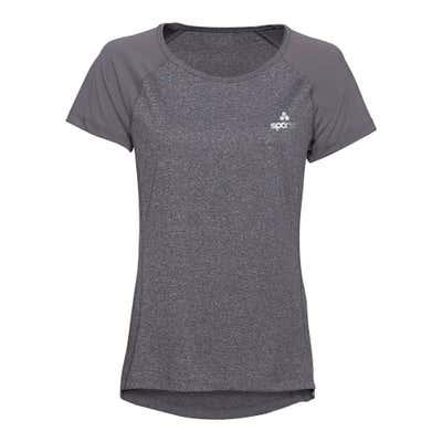 Damen-Fitness-T-Shirt mit verlängertem Saum
