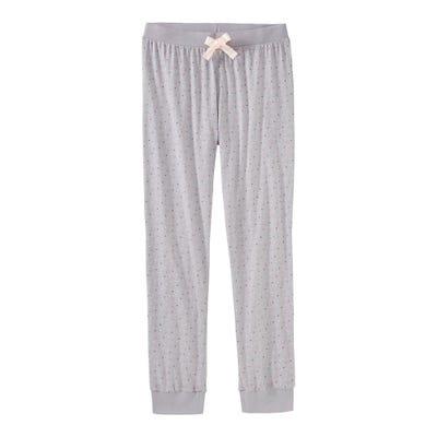 Damen-Schlafhose mit Punkte-Muster, Mix&Match