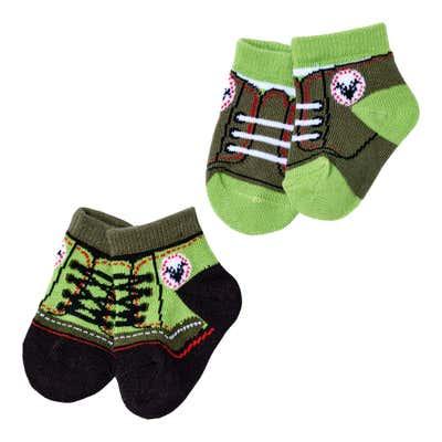 Baby-Jungen-Sneaker-Socken in angesagter Trachtenoptik, 2er Pack