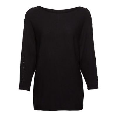 Damen-Pullover mit hübscher Schnürung