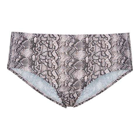 Damen-Panty mit Schlangenhaut-Muster