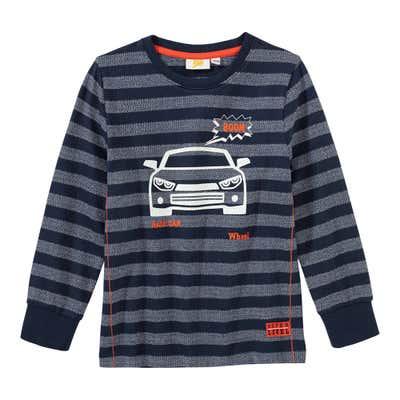Jungen-Shirt mit Streifenmuster