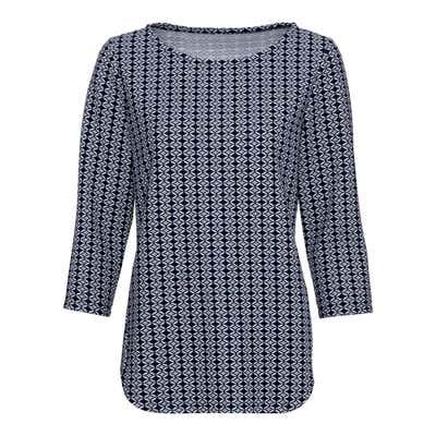 Damen-Sweatshirt mit Strukturmuster