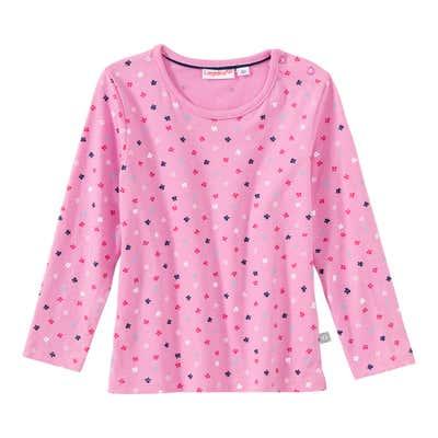 Baby-Mädchen-Shirt mit Schmetterlings-Muster