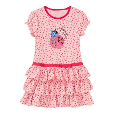 Mädchen-Kleid mit Rüschen-Rock