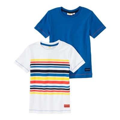 Jungen-T-Shirt, 2er Pack