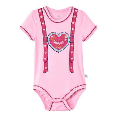 Baby-Mädchen-Body in beliebter Trachtenoptik