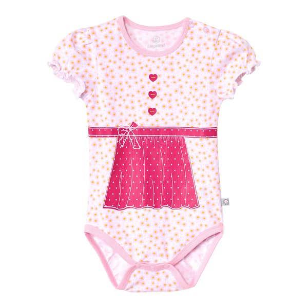 Baby-Mädchen-Body mit süßer Schürze