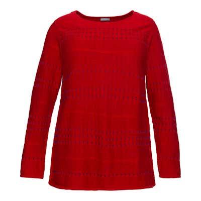 Damen-Pullover mit Ajour-Muster, große Größen