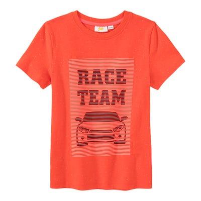 Jungen-T-Shirt mit Rennauto-Motiv