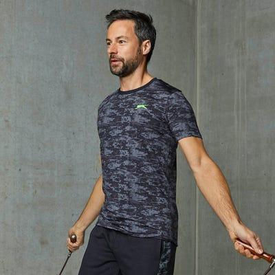 Herren-T-Shirt mit angesagtem Muster