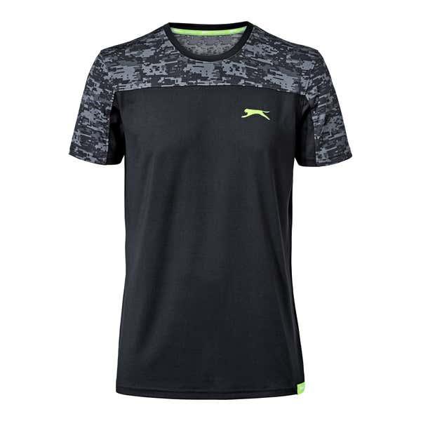 Herren-T-Shirt mit modischem Einsatz
