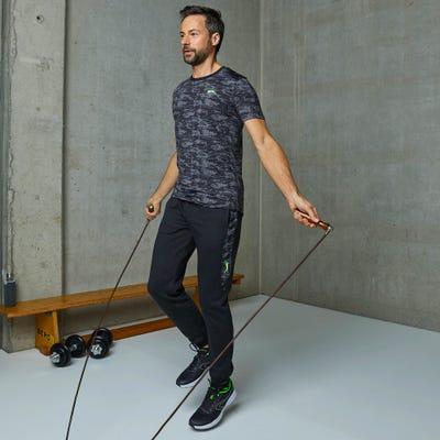 Herren-Jogginghose mit Kontrasteinsätzen