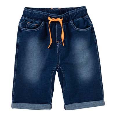 Jungen-Bermudas im Jeans-Look