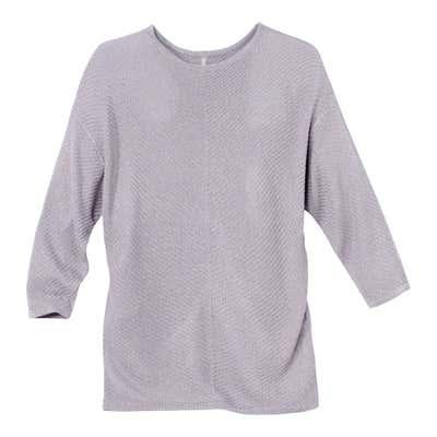 Damen-Pullover mit angesagter Rippenstruktur