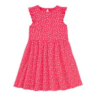 Mädchen-Kleid mit zarten Rüschen